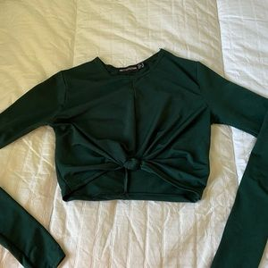 Pretty Little thing cropped long sleeve top!